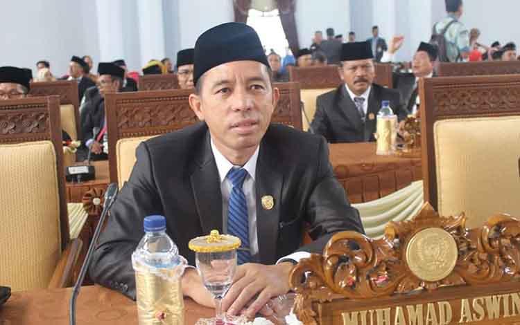 Wakil Ketua DPRD Seruyan, Muhamad Aswin.