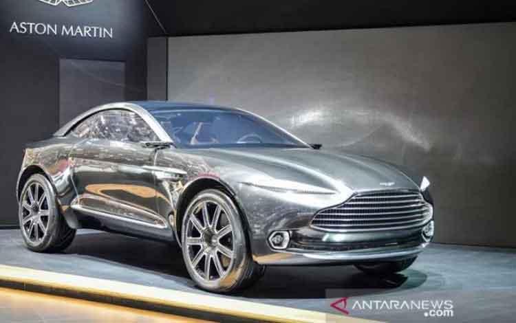 Aston Martin electric all-wheel-drive DBX concept. (ANTARA/Shutterstock)