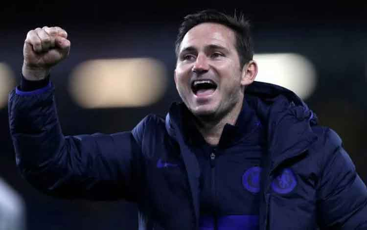 Manajer Chelsea Frank Lampard. (Action Images via Reuters/Lee Smith)