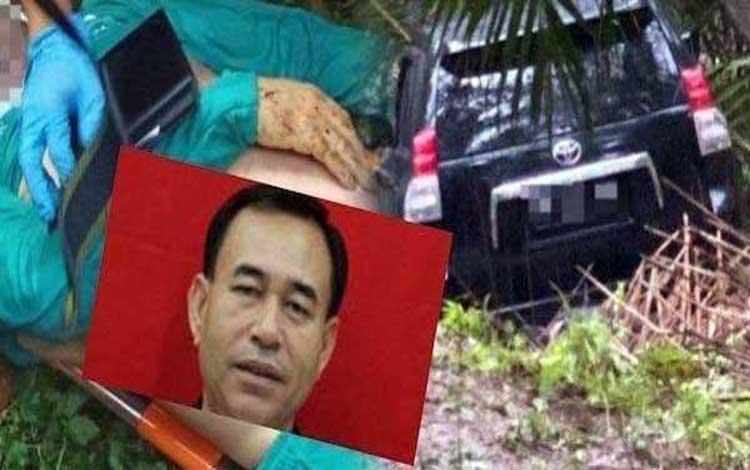 Hakim Pengadilan Negeri Medan Jamaluddin diduga meninggal karena dibunuh secara terencana