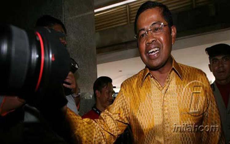 Eks Sekjen Partai Golkar Idrus Marham dieksekusi KPK ke Cipinang