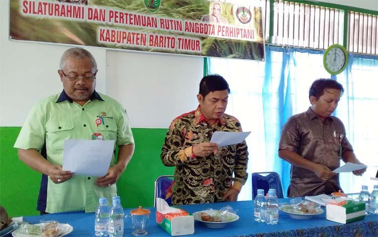Franky memastikan seluruh anggota Perhiptani Barito Timur siap mengawal segala kebijakan pemerintah