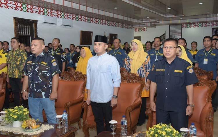 Wali Kota Palangka Raya, Fairid Naparin menghadiri Musda ke VIII AMPI, Sabtu 21 Desember 2019