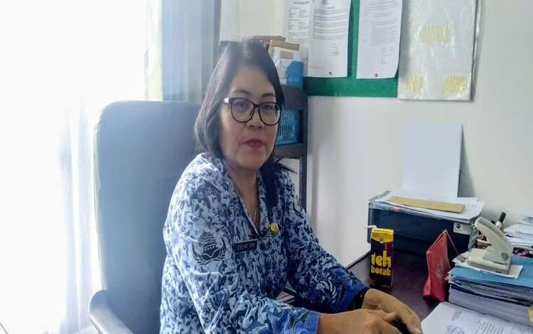 Plt Skretaris Dinas Kesehatan Kabupaten Gunung Mas, Evelnie menjelaskan saat ini petugas medis terus melakukan pencegahan terhadap penyakit HIV/AIDS