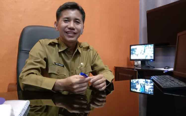 Kadiskomimfo Statistik dan Persandian Kobar, Rodi Iskandar.