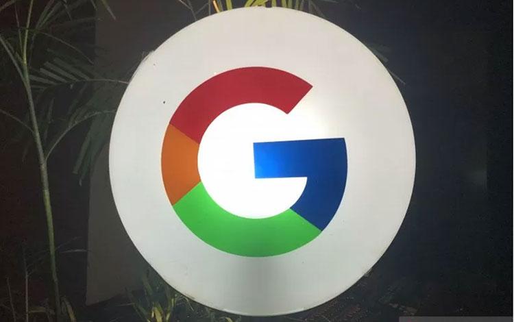 Logo Google (ANTARA/Arindra Meodia)