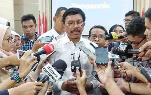 Menteri Kominfo, Johnny G Plate. (foto : tempo.co)