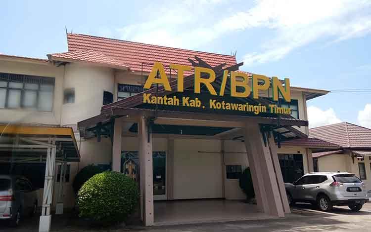 Kantor Badan Pertanahan Nasional atau BPN Kabupaten Kotawaringin Timur.