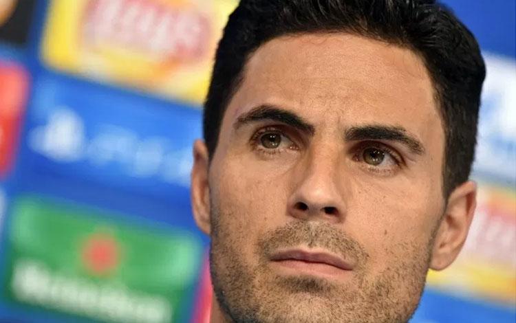 Manajer Arsenal Mikel Arteta. (AFP/ANDREJ ISAKOVIC)