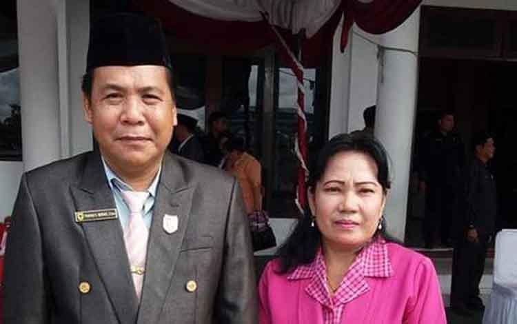 Anggota DPRD Punding S Merang menyampaikan agar kepala desa memanfaatkan potensi dengan baik.