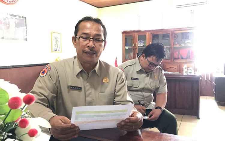 Kepala Pelaksana BPBD Kapuas Panahatan Sinaga mengatakan, pihaknya mencatat ada 153 kejadian karhutla sepanjang 2019