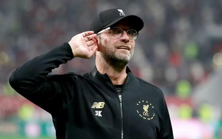Manajer Liverpool Jurgen Klopp. (foto : ANTARA/REUTERS/PA Images/Adam Davy)
