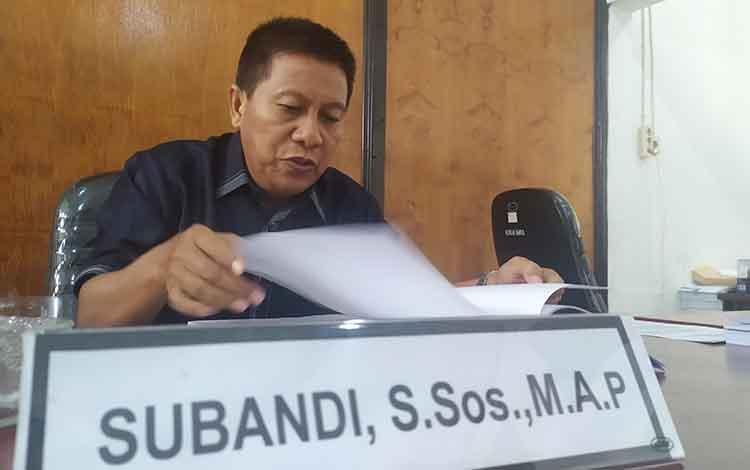 Ketua Komisi A DPRD Kota Palangka Raya Subandi