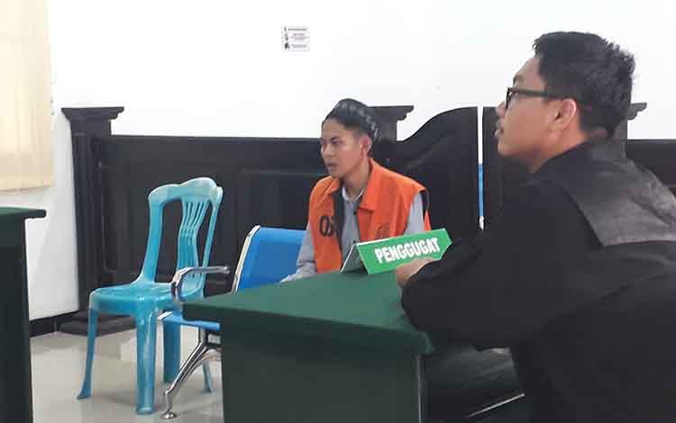 Rio Setiawan terdakwa pencuri motor di Kumai, dijatuhi hukuman penjara 1 tahun di Pengadilan Negeri Pangkalan Bun, Rabu, 8 Januari 2020