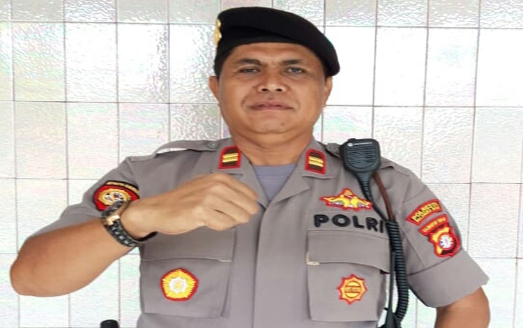 Kapolsek Sebangau, Iptu Wayan Sukarya.