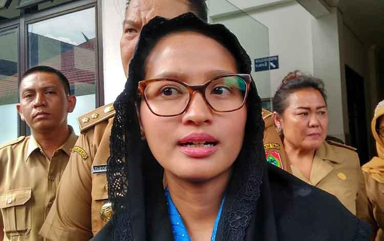 Ketua TP PKK Kalimantan Tengah Yulistra Ivo Sugianto Sabran
