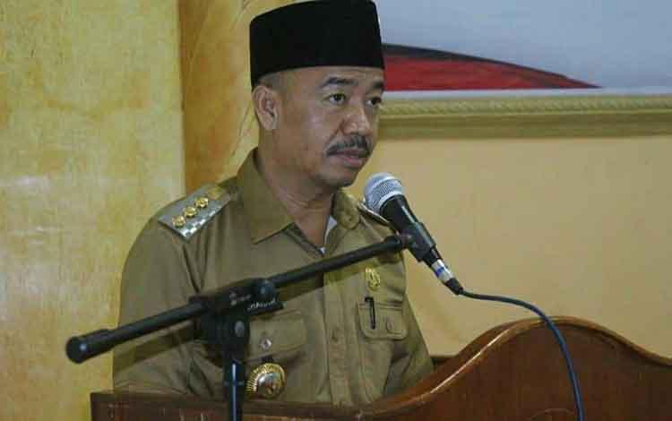 Bupati Seruyan, Yulhaidir menyampaikan rencana lelang jabatan untuk mengisi kekosongan sejumlah kepala SOPD.