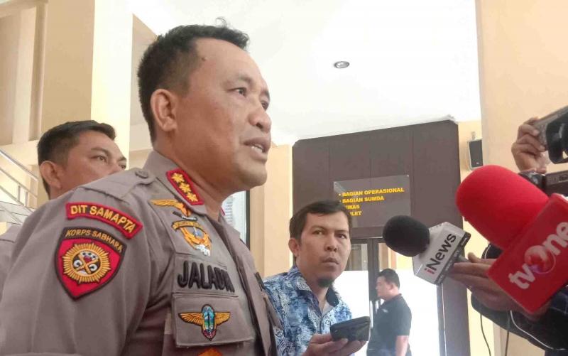 Kapolresta Palangka Raya, Kombes Pol Dwi Tunggal Jaladri.