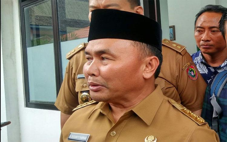 Gubernur Kalteng, Sugianto Sabran