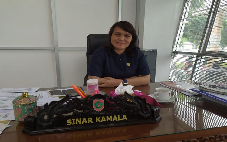 Anggota DPRD Kalteng, Sinar Kamala