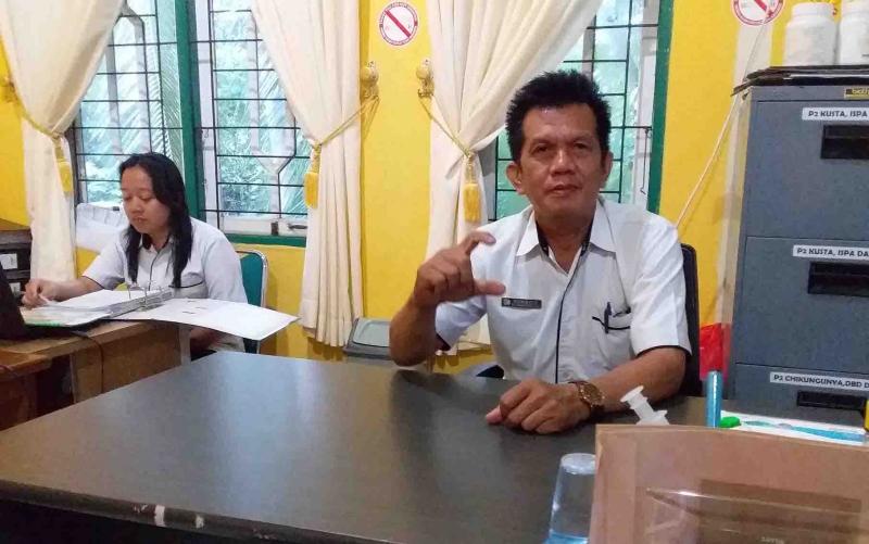 Kabid Pencegahan dan Pengendalian Penyakit Dinas Kesehatan Kabupaten Barito Timur, Suhaily.