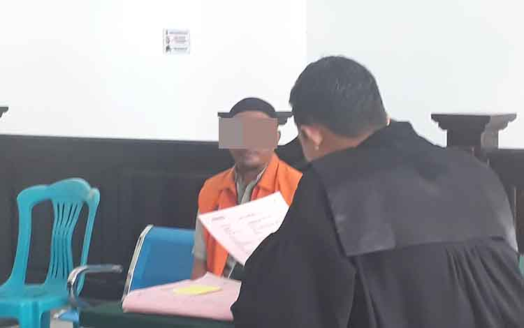 Pakai sabu hingga 2 tahun, terdakwa Adi Musdani mengaku hanya kurir bukan pengedar