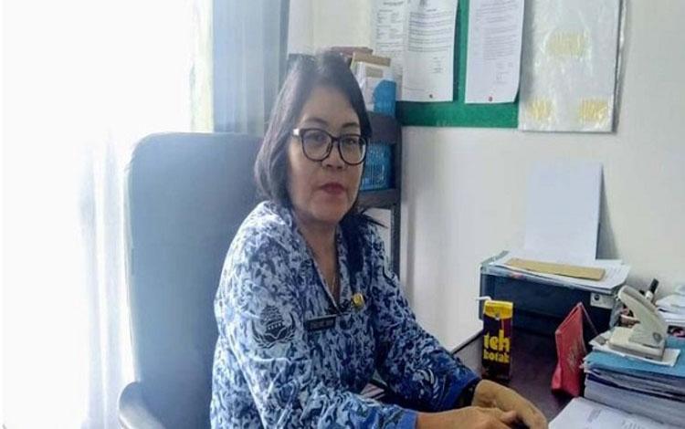 Sekretaris Dinkes Gunung Mas, Elvenie mengimbau masyarakat mencegah penyakit DBD dengan cara 3M plus