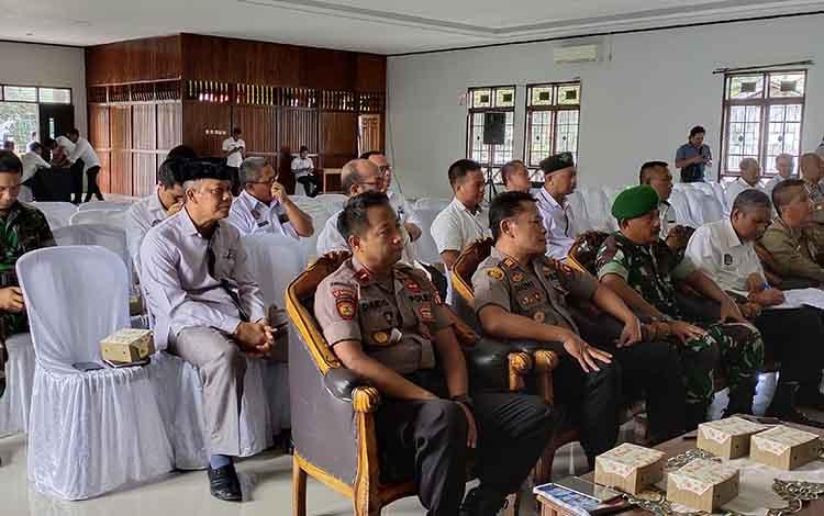 Rapat koordinasi penanggulangan penyakit masyarakat di Kabupaten Sukamara