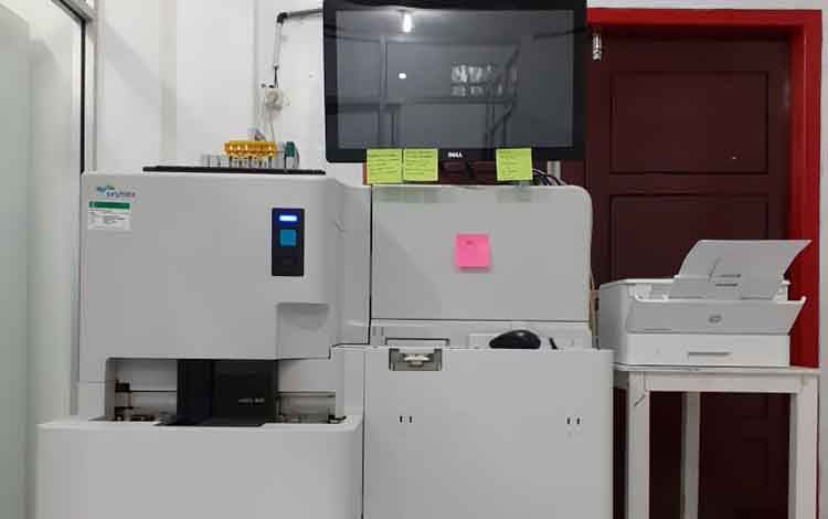 PMI Kobar miliki CHLIA alat pendeteksi penyakit menular yang pertama di Kalteng.