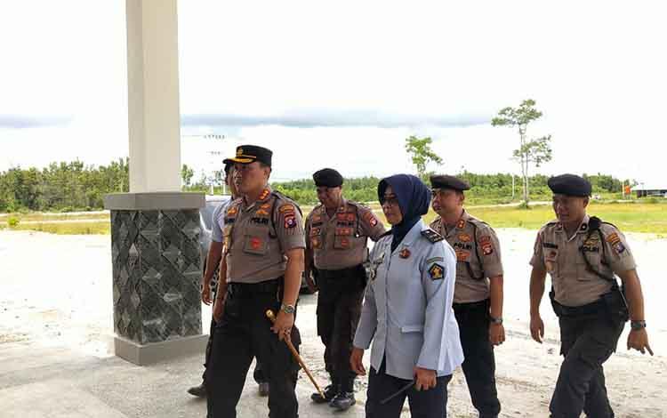 Kapolresta Palangka Raya Kombes Pol Dwi Tunggal Jaladri dalam kunjungan ke Lapas Perempuan beberapa waktu lalu.