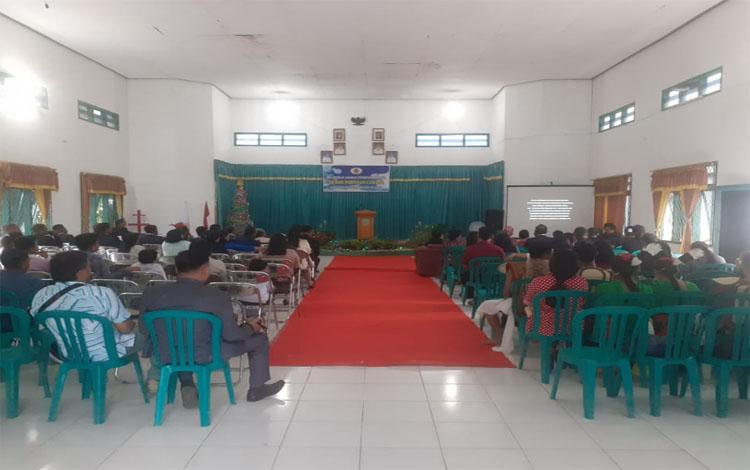Pelantikan Dewan Pimpinan Cabang Asosiasi Pendeta Indonesia (API) Kabupaten Sukamara