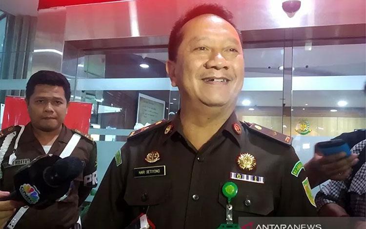 Kepala Pusat Penerangan Hukum Kejaksaan Agung Hari Setiyono. ANTARA/Anita Permata Dewi/pri.