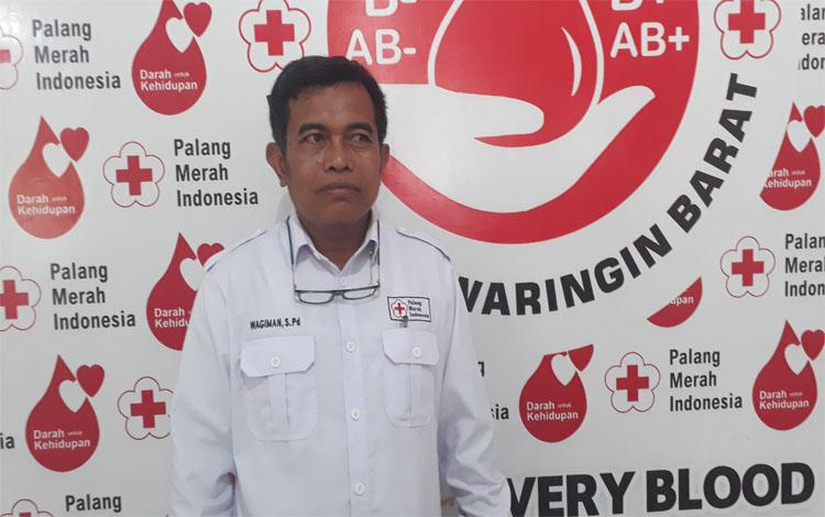 Sekretaris dan Kepala Markas PMI Kobar Wagiman sampaikan jika PMI Kobar siap hadapi bencana