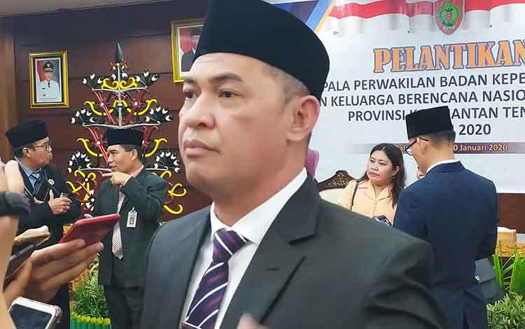 Sekretaris Daerah Provinsi Kalimantan Tengah Fahrizal Fitri.