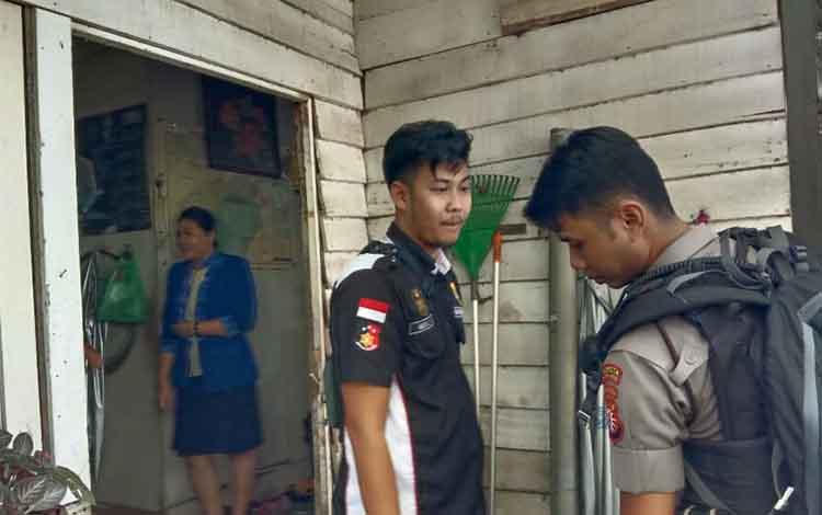 Tim Inafis dan Reskrim Polresta Palangka Raya saat melakukan olah TKP, Selasa 21 Januari 2020