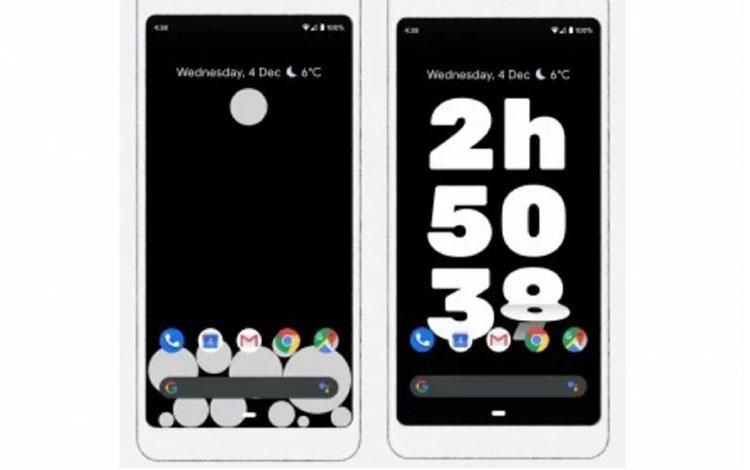 Aplikasi Activity Bubbles (kiri) dan Screen Stopwatch (kanan) yang dirilis Google untuk mengatasi masalah penggunaan ponsel yang berlebihan. (Google Play Store)