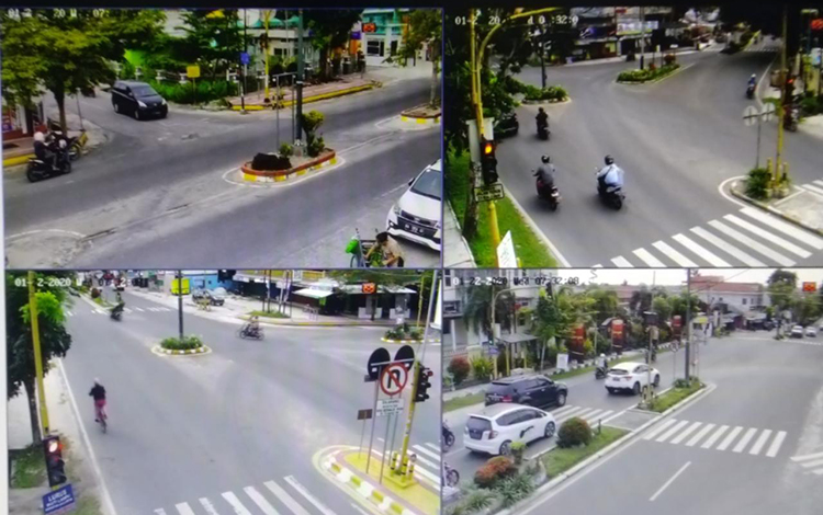 Menuju Smart City, Pemkab Kobar telah memasang CCTV di 5 titik.
