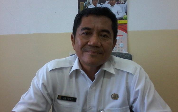 Kepala Dinas Tenaga Kerja dan Transmigrasi Kabupaten Katingan, Alyono.