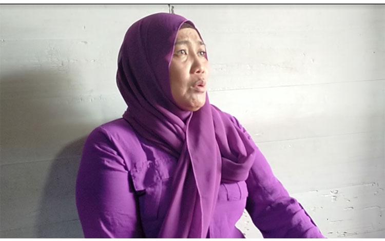 Erni Wahyuni (34), yang menjadi korban keisengan makhluk halus, ternyata indigo, Rabu, 22 Januari 20