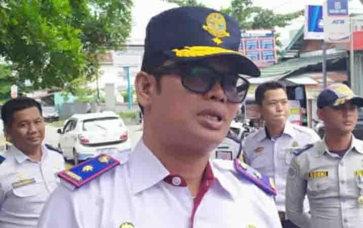 Kepala Dinas Perhubungan Kota Palangka Raya, Alman Pakpahan.