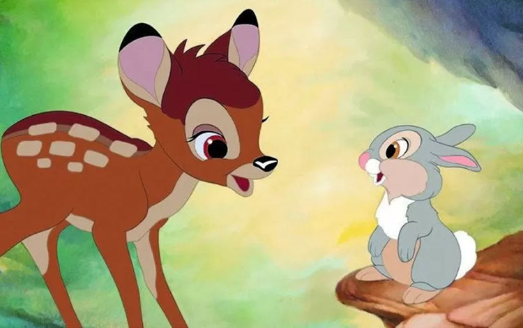 Cuplikan film Bambi (1942). (IMDb/Walt Disney Classics)