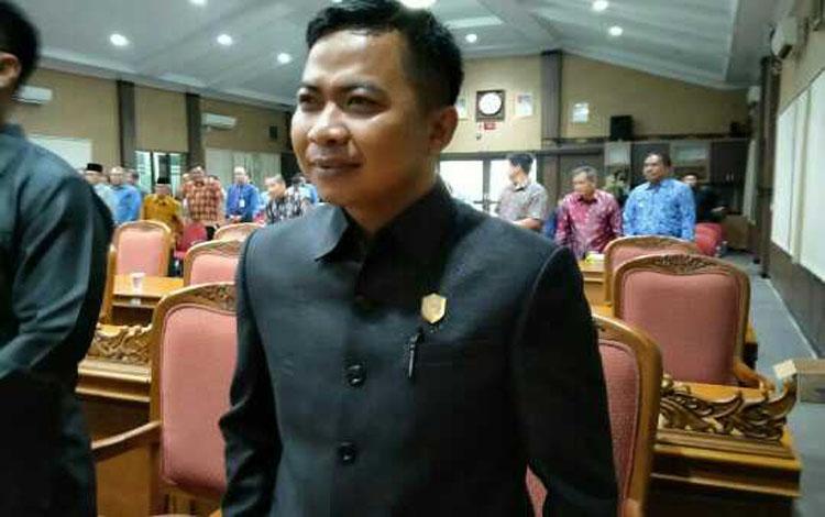 Anggota Komisi III DPRD Kotim, Riskom Fabiansyah