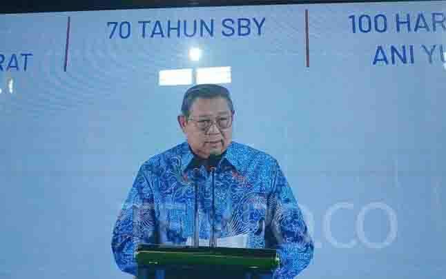 Ketua Umum Partai Demokrat, Susilo Bambang Yudhoyono.
