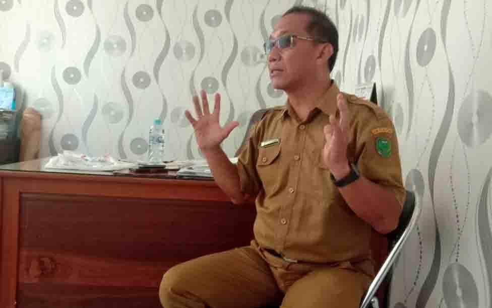 Kepala Dinas Kesehatan Pulang Pisau, Muliyanto Budihardjo.