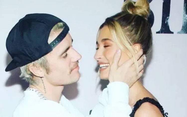 Justin Bieber dan Hailey Bieber (instagram/justinbieber)