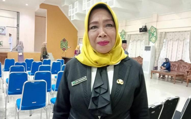 INFORMASI: Kepala DPMD Kabupaten Pulang Pisau, Deni Widanarni membeberkan bahwa pelantikan anggota BPD direncanakan pertengahan bulan Febuari, Rabu, 29 Januari 2020
