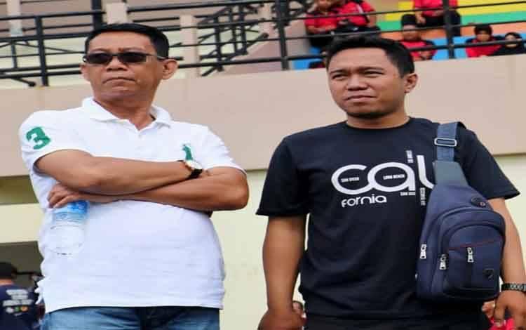 Pejabat Sekda Pulang Pisau, Saripudin (berkacamata) meminta SOPD dalam pengangkatan tenaga kerja harian lepas menyesuaikan kebutuhan, Minggu 1 Febuari 2020