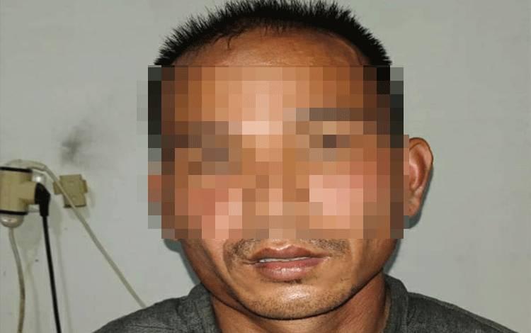 Tersangka pencuri Sugito alias Loto, yang merupakan seorang residivis.