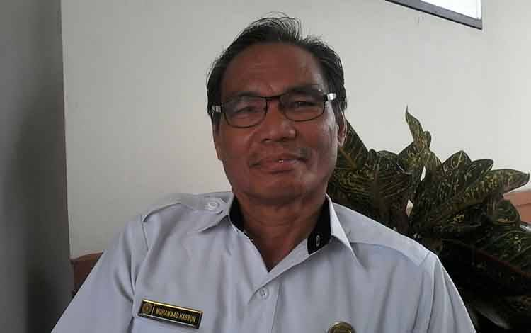 Kepala Dinas Pendidikan Kabupaten Katingan, M Hasrun.