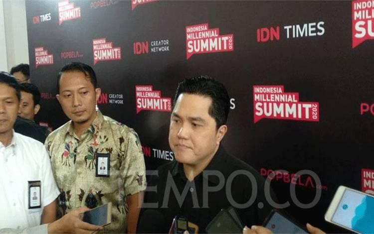Menteri BUMN, Erick Thohir. (foto : tempo.co)